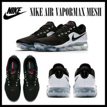 "ナイキ★NIKE AIR VAPORMAX メッシュ""BLACK/METALLIC SILVER""★"