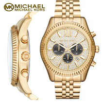 激安! Michael Kors  Lexington Chronograph Mens 腕時計 MK8494