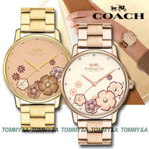 ★安心ヤマト便★Coach Grand Flower Watch 14503006 14503007