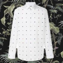 **GUCCI** 2018SS Bee embroidered motif 刺繍モチーフ shirt