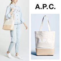 【A.P.C.】Axel キャンバス トートバッグ