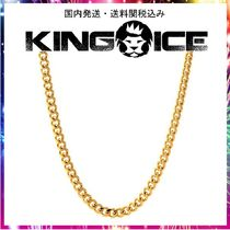 KING ICE☆5mm, Stainless Steel Gold Miami Cuban Curb Chain