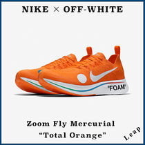"【Nike×OFF-WHITE】限定 Zoom Fly Mercurial ""Total Orange"""