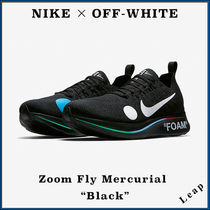 "【Nike×OFF-WHITE】限定 Zoom Fly Mercurial ""Black"""