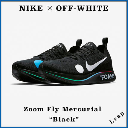 "Nike スニーカー 【Nike×OFF-WHITE】限定 Zoom Fly Mercurial ""Black"""