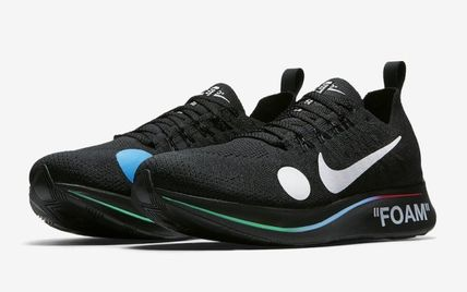 "Nike スニーカー 【Nike×OFF-WHITE】限定 Zoom Fly Mercurial ""Black""(10)"