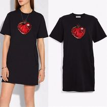 DISNEY X COACH【日本完売】Poison Apple T-Shirt Dress 33347