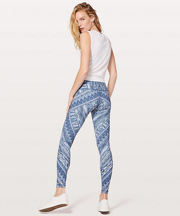 lululemon フィットネスボトムス Nulux素材!ハイウエスト★Wunder Under Hi-Rise Tight  Nulux(2)