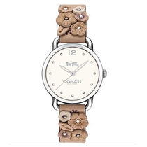 ★安心ヤマト便★Coach White Dial Ladies Watch 14502873
