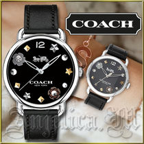 ★安心ヤマト便★Coach Black Dial Ladies Watch 14502780