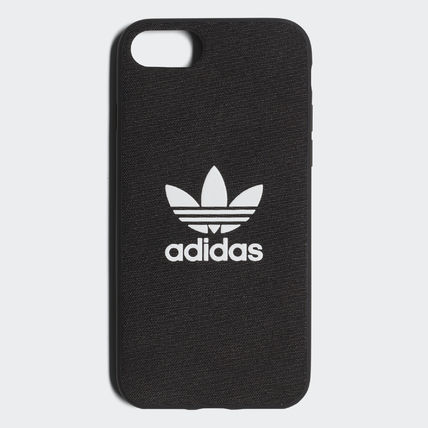 adidas iPhone・スマホケース 最新18SS☆adidas☆snapC Black/Blue iPhone 8 CJ6178/CJ6177