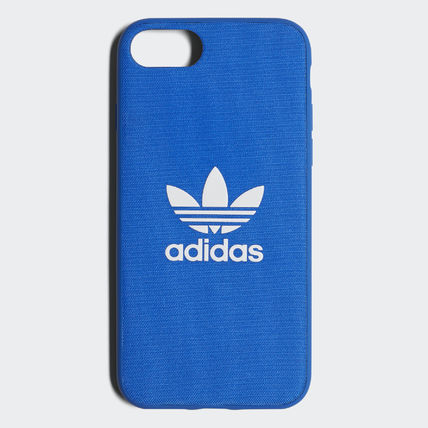 adidas iPhone・スマホケース 最新18SS☆adidas☆snapC Black/Blue iPhone 8 CJ6178/CJ6177(6)