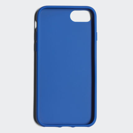 adidas iPhone・スマホケース 最新18SS☆adidas☆snapC Black/Blue iPhone 8 CJ6178/CJ6177(7)