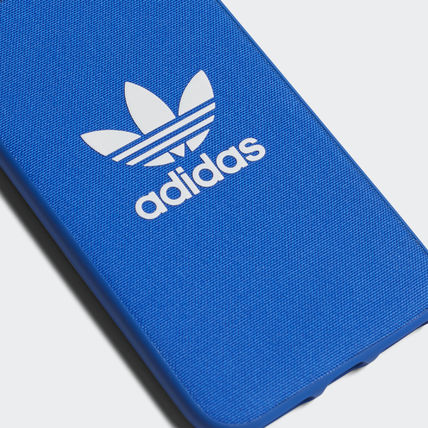 adidas iPhone・スマホケース 最新18SS☆adidas☆snapC Black/Blue iPhone 8 CJ6178/CJ6177(8)