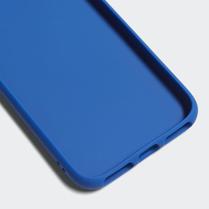 adidas iPhone・スマホケース 最新18SS☆adidas☆snapC Black/Blue iPhone 8 CJ6178/CJ6177(9)