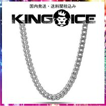☆KING ICE☆6mm, White Gold Stainless Steel Franco Chain
