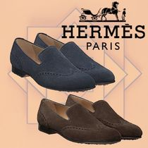 HERMES 2018-19AW Mocassins Palermo モカシン カーフスキン