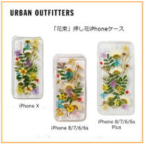 Urban Outfitters限定★「花束」押し花iPhone ケース