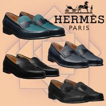 HERMES 2018-19AW Mocassins Kennedy モカシン カーフスキン