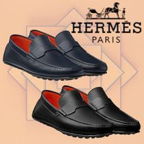 HERMES 2018-19AW Mocassins Pacome モカシン カーフスキン