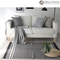 DECO VIEW★Modern Edge cotton Rug  - 200 X 150