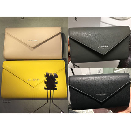 VIPセール!関税込☆【Balenciaga】Manicure Zap Around Wallet