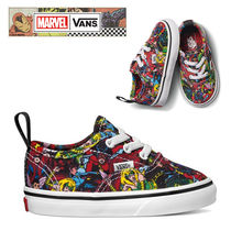 ★VANS x MARVELコラボ★KIDS Authentic★追跡付 VN0A38E8U41