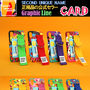 SECOND UNIQUE NAME iPhone・スマホケース 【NEW】「SECOND UNIQUE NAME」 2018 GRAPHIC CARD 正規品