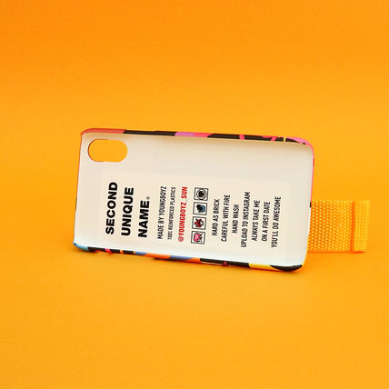 SECOND UNIQUE NAME iPhone・スマホケース 【NEW】「SECOND UNIQUE NAME」 2018 GRAPHIC CARD 正規品(10)
