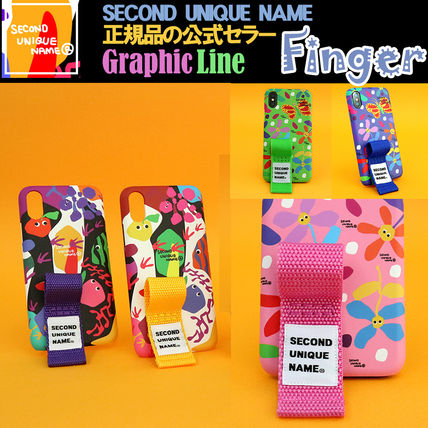 SECOND UNIQUE NAME iPhone・スマホケース 【NEW】「SECOND UNIQUE NAME」 2018 GRAPHIC Finger 正規品