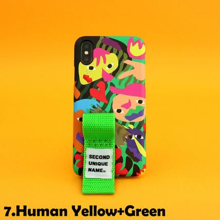 SECOND UNIQUE NAME iPhone・スマホケース 【NEW】「SECOND UNIQUE NAME」 2018 GRAPHIC Finger 正規品(15)