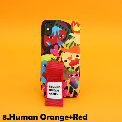 SECOND UNIQUE NAME iPhone・スマホケース 【NEW】「SECOND UNIQUE NAME」 2018 GRAPHIC Finger 正規品(16)