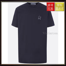 【ジバンシィ】Star Print Oversize Cotton T Shirt Black