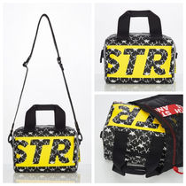 ★STRETCH ANGELS★ [S.C.F] 2Wey Box top-handle tote bag S
