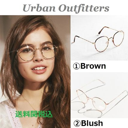 Urban Outfitters メガネ 送関込☆UO☆Kendall Round Readers 2色