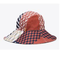 2018SS♪ Tory Burch ★ FLORAL PATCHWORK BUCKET HAT