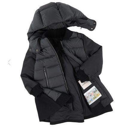 MONCLER キッズアウター 関税込AW新作★BLOIS☆大人もOK!!異素材MIXがCOOL☆12A14A♪(2)