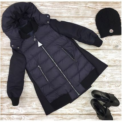 MONCLER キッズアウター 関税込AW新作★BLOIS☆大人もOK!!異素材MIXがCOOL☆12A14A♪(4)