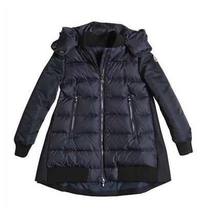 MONCLER キッズアウター 関税込AW新作★BLOIS☆大人もOK!!異素材MIXがCOOL☆12A14A♪(5)