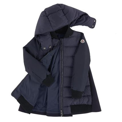 MONCLER キッズアウター 関税込AW新作★BLOIS☆大人もOK!!異素材MIXがCOOL☆12A14A♪(6)