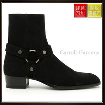 【サンローラン】Wyatt 40 Harness Boots Nero