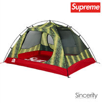 SUPREME TNF SNAKESKIN TAPED SEAM STORMBREAK 3 TENT / GREEN