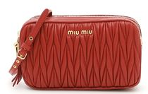 MIU MIU Matelasse Mini Bag