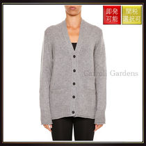 【セリーヌ】Cashmere Cardigan Grey