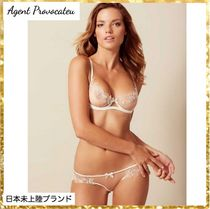 Agent Provocateur(エージェントプロヴォケイター ) ブラジャー 新作【Agent Provocateur】Lindieヌードブラ☆ホワイトレース