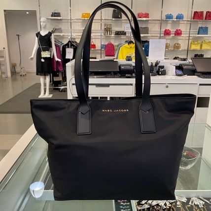 MARC JACOBS トートバッグ SALE! MARC JACOBS ナイロン トートバッグ ブラック M0013561(3)