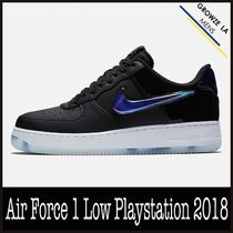★【NIKE】追跡発送 ナイキ Air Force 1 Low Playstation 2018