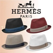 HERMES 2018-19AW Chapeau Funky ハット コットンツイル