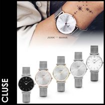 CLUSE(クルース) アナログ腕時計 ★追跡&関税込【CLUSE】33mm/Minuit Mesh SILVER