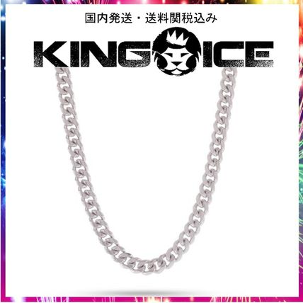 King Ice ネックレス・チョーカー ☆KING ICE☆8mm, Stainless Steel Miami Cuban Curb Chain
